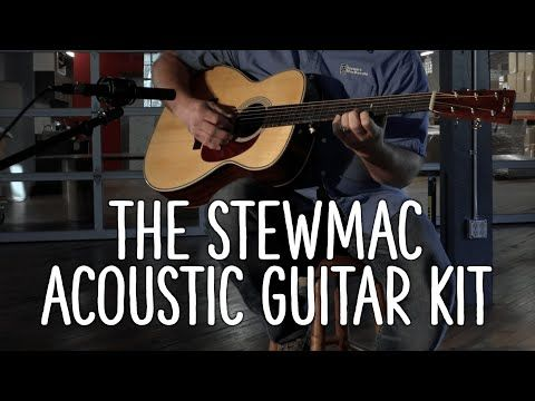 Stewmac 000 Triple O Acoustic Guitar Kits Feature The Highest Quality Materials Rosewood Mahogany Torrefied Spruce Acoustic Guitar Kits Guitar Guitar Kits