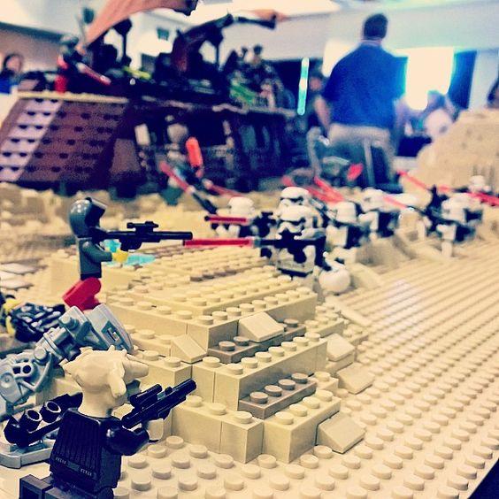 Lego Jabba's barge. #Lego #starwars #jabba #tatooine #geek