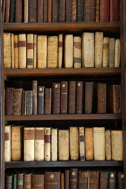 Old Books are a Must!