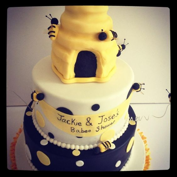 bee baby showers bumble bees baby shower cakes shower cakes bees baby