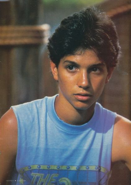 Ralph Macchio...I had the biggest crush..;)