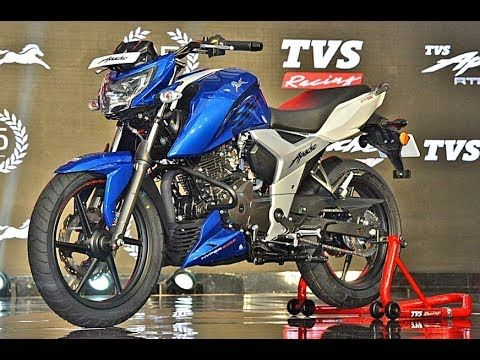 First Look Apache Rtr Blue Color