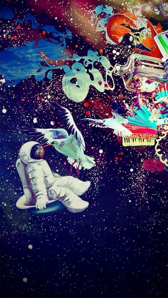 Pin On Art Galaxy psychedelic dope wallpaper