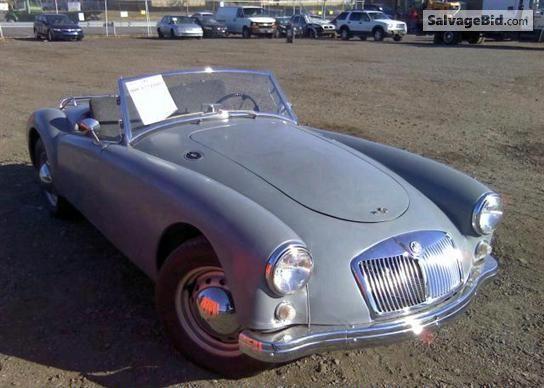 1958 MG MGB VIN: HDR4351040