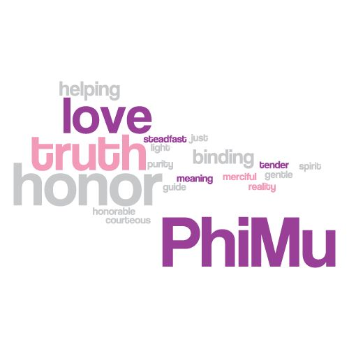 Phi Mu, Sorority,T-Shirt *All designs can be customized for your organization or chapter's needs!