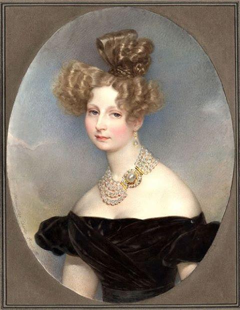 Grand Duchess Elena Pavlovna by Karl Briullov, 1829: