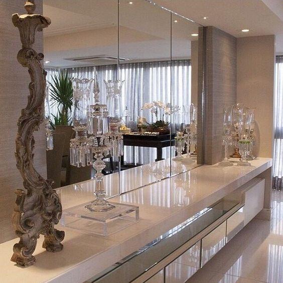 #474473 Casa Montada Decoração Moderna e CleanEtiquetas Limpadores e Blog 564x563 píxeis em Aparador Para Sala De Estar Moderna