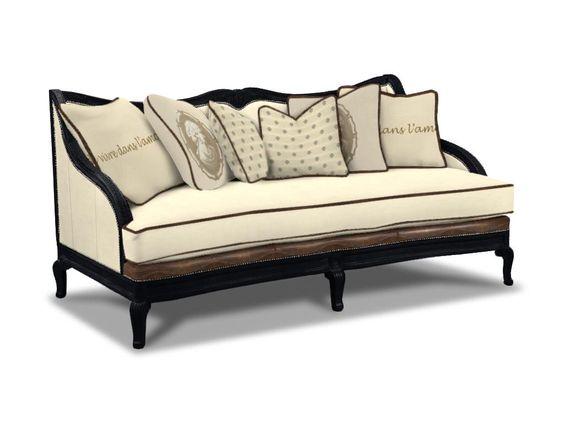 Drexel Heritage Living Room Machelle Sofa L1885 MS Wow