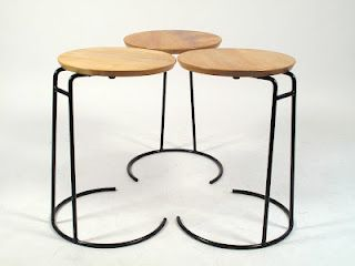 // Jens Risom Stacking Tables 1950