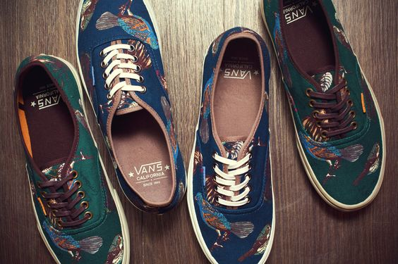 "Vans California 2012 Fall/Winter ""Birds"" Authentic CA Pack."