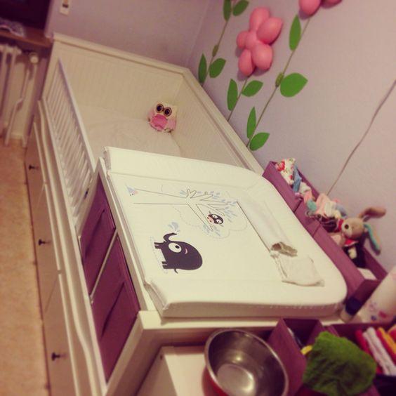 Ikea hack kinderbett  Ikea Hack Hemnes Tagesbettgestell mit 2 Kallax Regalen zum ...