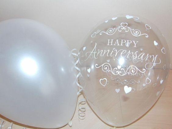 Pearl Gift Ideas For 30th Wedding Anniversary: 30th Pearl Printed WEDDING ANNIVERSARY Balloons / Party