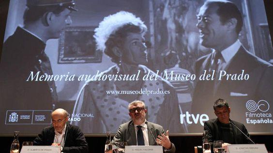 Presentación de la Memoria Audiovisual del Museo del Prado