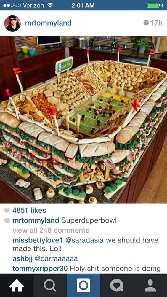 Holy #superbowl #party