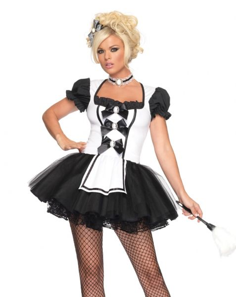 legs french maid escort