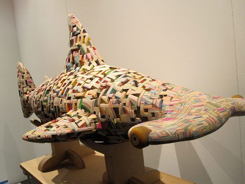 Haroshi Skateboard Pretty Art And Heart Art - Self taught woodworker turning old skateboards awesome sculptures