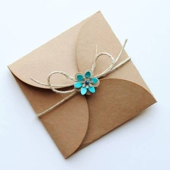 ideas and more gift wrap wraps nice jewelry brown paper gifts wedding ...