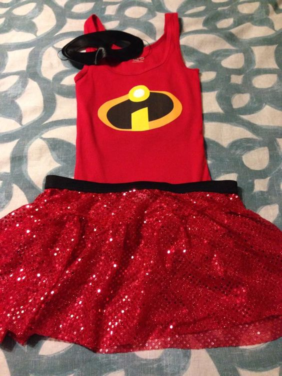 incredibles costume - running