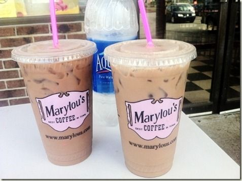 marylou's girl scout cookie coffee is like no other.