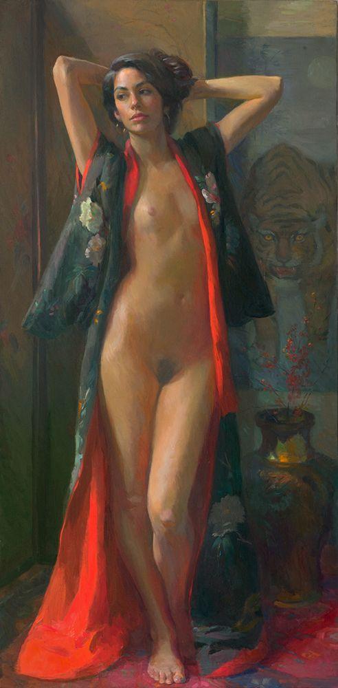 """""""STUDY IN SCARLET"""" Artist: John Ebersberger:"""