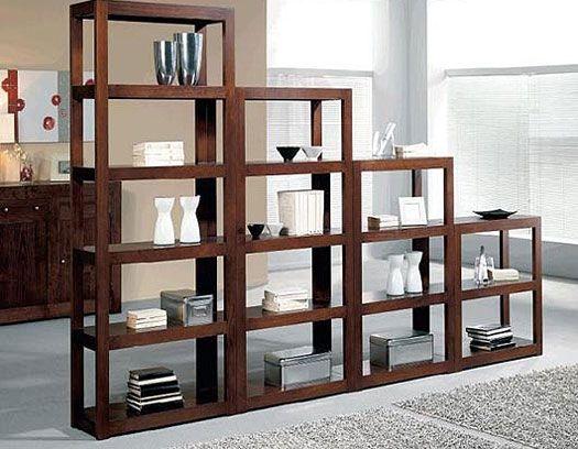 Separadores de ambiente para todos los gustos hogar y estilo estampas living pinterest - Estanterias separadoras de ambientes ...