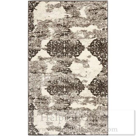 Safavieh Deco Inspired Beige Light Grey Rug 3 x27 x 5 x27 - at - 0153