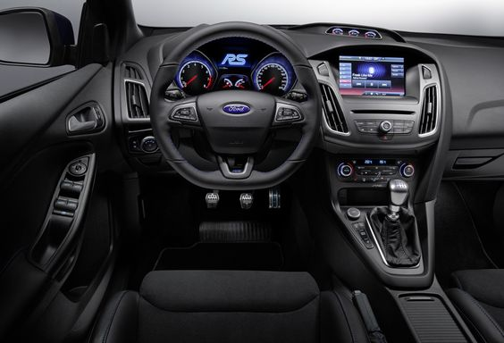 Ford Unleashes All New All Wheel Driven Focus Rs With Over 320ps Carscoops Ford Focus Rs Interior Ford Focus Rs Focus Rs