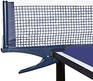 Luniquz Table Tennis Net With Post Ping Pong Replacement Net For Indoor Outdoor Play Lightweight Compact For Adults Kids Sports Outdoors Fitness Exerc