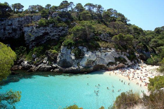 Cala Macarelleta Ciutadella de Menorca