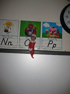 Art elf on the shelf classroom-ideas