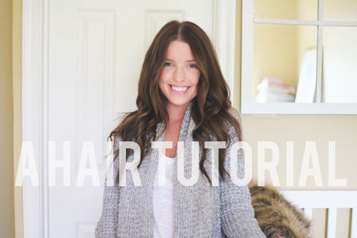 1) I love this girl's blog. 2) This HAIR TURORIAL is awesome! Put-together, but not overdone.