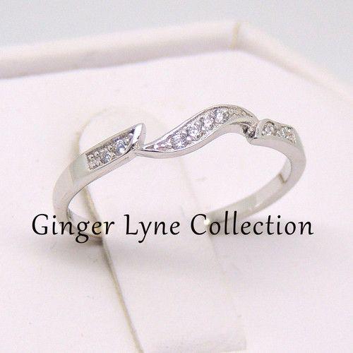 Calli, Unique Anniversary Wedding Band Ring