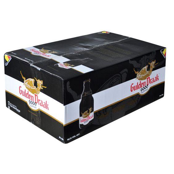 Bia Gulden Draak 9000 10,5% - Chai 330ml - Bia Nhập Khẩu