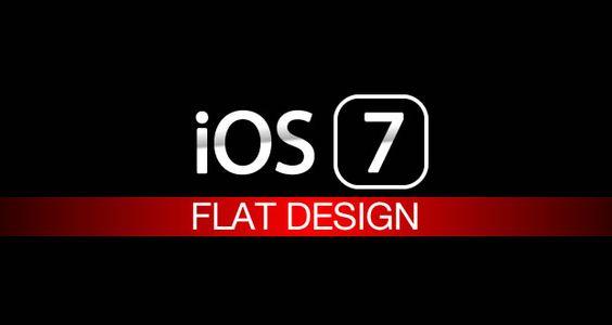 iOS 7 Flat Design: schwarz & weiß und sehr flach!  - http://apfeleimer.de/2013/05/ios-7-flat-design-schwarz-weiss-und-sehr-flach