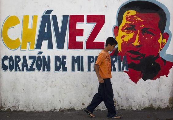 Chávez fait le mur - Libération