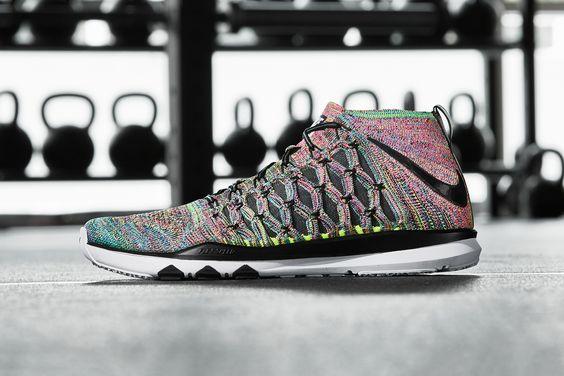 "Nike's Train Ultrafast Flyknit Gets the ""Multicolor"" Treatment"