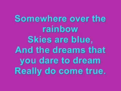 Somewhere over the Rainbow Karaoke