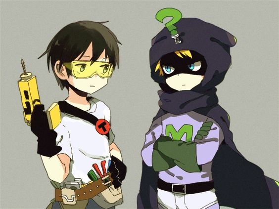 Toolshed and Mysterion by yoyterra on DeviantArt