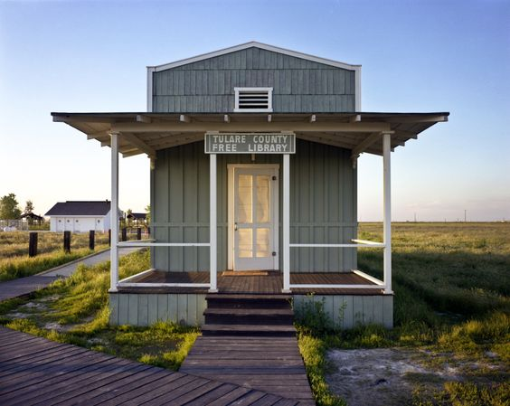 Library  built by ex-slaves, Allensworth, CA 1995