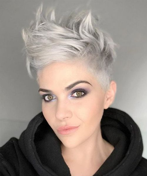 Tremendous Short Silver Hairstyles For Women To Get Modish Look Short Silver Hair Womens Hairstyles Gorgeous Hair
