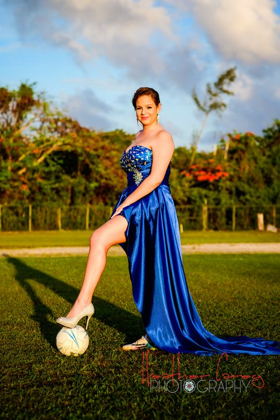 Megan | Bahamas High School Graduation/Prom Dress Photo Shoot | Soccer-Themed » Heather Carey Photography: Bahamas Wedding Photography and Portrait Photography