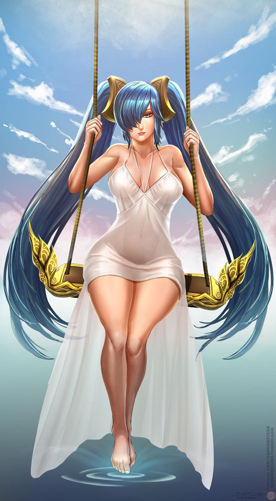 [SSS] Sona by BADCOMPZERO.deviantart.com on @DeviantArt - More at…