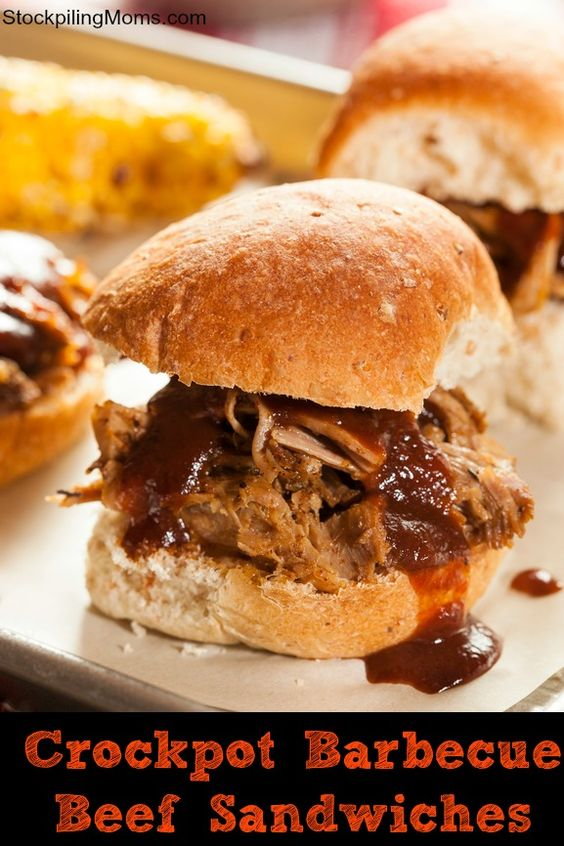 Barbecue Beef Sandwiches | Recipe | Pork, Day off and Barbecue ...
