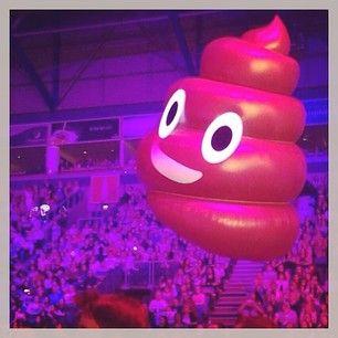 katyperry: TONIGHT'S GONNA BE THE  (yes, we have flying emojis on tour)  #BIRMINGHAM #theprismaticworldtour