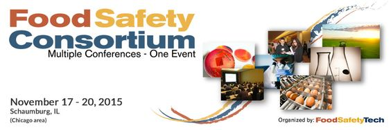 """The Food Safety Consortium conference is a summit meeting of Food Safety and Quality Assurance (FSQA) industry experts and government officials.  The agenda is comprised of individual presentations, """"Ask The Experts"""" discussion groups, workshops and training programs running concurrently, coupled with overarching plenary sessions paired with a table-top exhibition."""