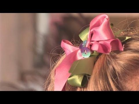 Learn To Make Decorative Bows For Children's Hair