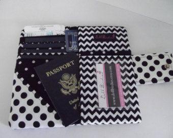 Dollbirdies Family Boarding Pass Passport Wallet by Dollbirdies