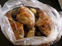 Cuisses de lapin rôties en papillote: The Meat, With, Belgian Fare, Secondi Misti, De Lapin