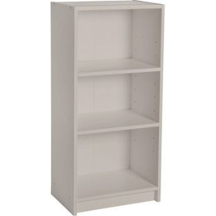 Maine Half Width Small Extra Deep Bookcase Putty At Argos Co Uk