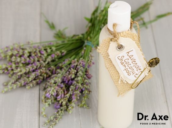 This easy and fast homemade coconut lavender shampoo recipe cleans hair naturally without stripping natural oils! Try it and see the benefits for yourself!: